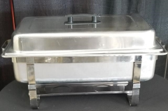 Rental store for STAINLESS FULL SIZE CHAFER   7QT in Johnson City TN