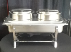 Rental store for STAINLESS DOUBLE SOUP CHAFER in Johnson City TN