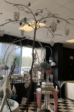 Rental store for PEWTER VOTIVE TREE W  HANGING VOTIVES in Johnson City TN