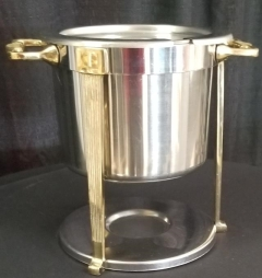 Rental store for STAINLESS   GOLD SINGLE SOUP CHAFER in Johnson City TN