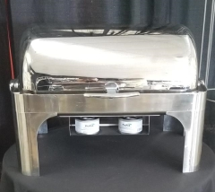 Rental store for STAINLESS ROLL TOP CHAFER   7QT in Johnson City TN