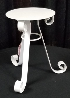 Rental store for 8  X 12  ROUND WHITE PEDESTAL CAKE STAND in Johnson City TN