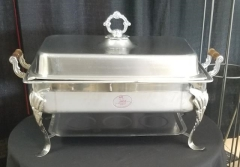 Rental store for ORNATE CHAFER RECTANGLE   7QT in Johnson City TN
