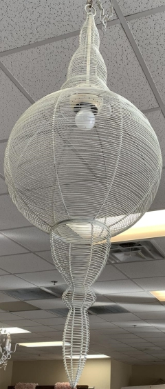 Rental store for WHITE CONE CHANDELIER in Johnson City TN