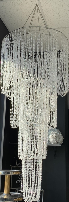 Rental store for CRYSTAL BEADED CHANDALIER in Johnson City TN