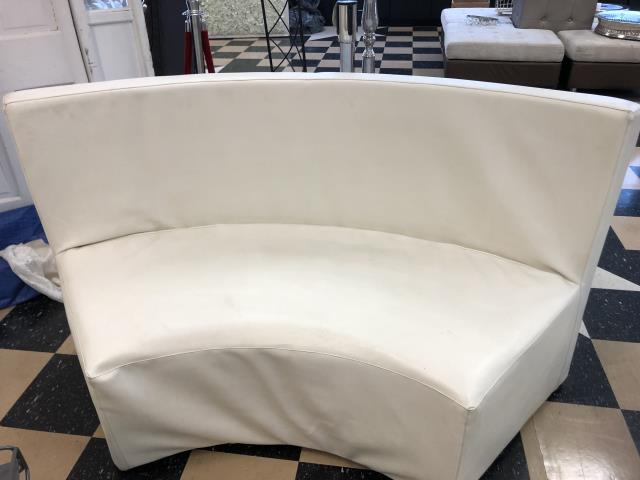 Where to find CURVE SOFA LEATHER   WHITE in Johnson City