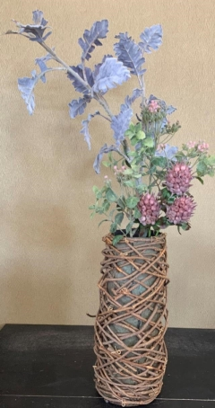 Rental store for WOOD TWIG VASE   4  X 10 in Johnson City TN