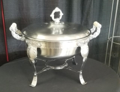 Rental store for ORNATE CHAFER ROUND   8QT in Johnson City TN