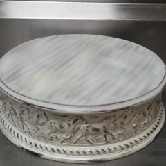 Rental store for 18  ROUND ANTIQUE HORSE CAKE STAND in Johnson City TN