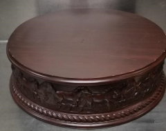 Rental store for 18  ROUND CHERRY HORSE CAKE STAND in Johnson City TN