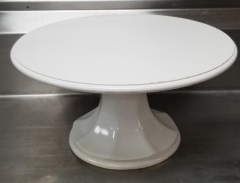 Rental store for 18  ANTIQUE WHITE PEDESTAL CAKE STAND in Johnson City TN