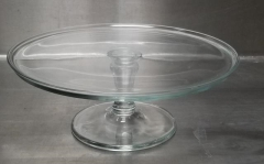 Rental store for GLASS CAKE PEDESTAL ROUND 12 X 4 1 2 in Johnson City TN