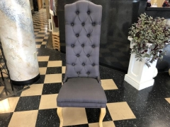 Rental store for GRAY HIGH BACK CLOTH CHAIR in Johnson City TN