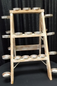 Rental store for 3 TIER SHABBY CHIC CUPCAKE LADDER in Johnson City TN
