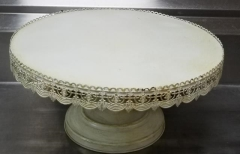 Rental store for 22  SHABBY CHIC ROUND CAKE STAND in Johnson City TN