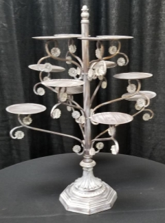Rental store for BEDAZZLED SILVER CUPCAKE STAND  12 in Johnson City TN