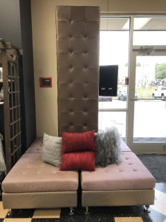 Rental store for CHOCOLATE TALL SQUARE TOWER SOFA in Johnson City TN