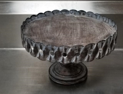Rental store for OLD RUSTIC METAL CAKE STAND 13  ACROSS in Johnson City TN