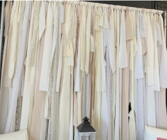 Rental store for SHABBY CHIC BACKDROP WHITE, CREAM AND CH in Johnson City TN