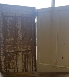 Rental store for WHITE DOORS W  BROWN CRACKLE   SET in Johnson City TN