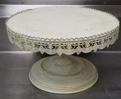Rental store for 16  SHABBY CHIC ROUND CAKE STAND in Johnson City TN