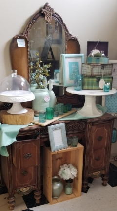 Rental store for ANTIQUE VANITY BROWN WOOD in Johnson City TN