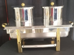Rental store for STAINLESS   GOLD SOUP CHAFER DOUBLE in Johnson City TN