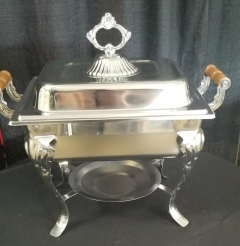 Rental store for ORNATE CHAFER SQUARE   3QT in Johnson City TN