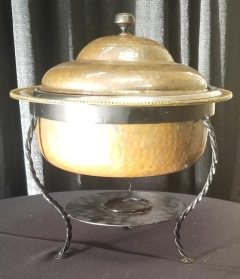 Rental store for COPPER ROUND CHAFER   3QT in Johnson City TN