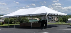 Rental store for 20 X 40  WHITE FRAME CANOPY in Johnson City TN